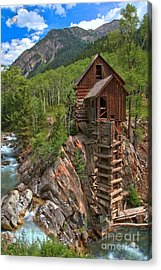 Old Time Colorado Acrylic Print by Adam Jewell