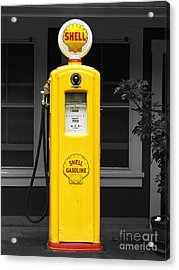 Old Time Gas Pump Acrylic Print