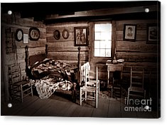 Old-time Living Acrylic Print by Paul W Faust -  Impressions of Light