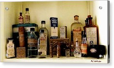 Old-time Remedies Acrylic Print