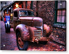 Old Times 2 Acrylic Print by Michaela Preston