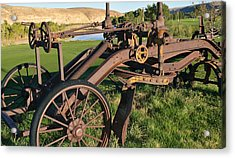 Old Timey Grader Acrylic Print