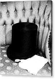Old Top Hat Acrylic Print
