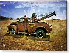 Old Tow Acrylic Print by Marty Koch