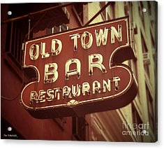 Old Town Bar - New York Acrylic Print