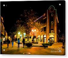 Old Town Christmas Acrylic Print by Jon Burch Photography