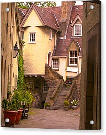 Old Town Lodging Acrylic Print