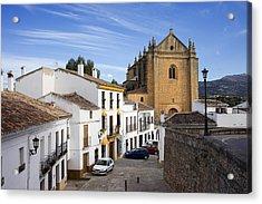 Old Town Of Ronda Acrylic Print by Artur Bogacki