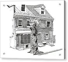 Old Town Philadelphia Acrylic Print by Paul Kmiotek