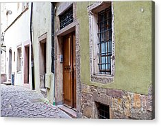 Old  Town Plate 2 Acrylic Print