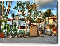 Old Town San Diego Colors Acrylic Print