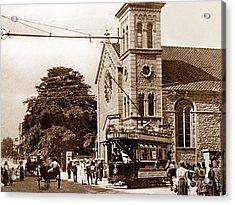 Old Town Swindon England Acrylic Print by The Keasbury-Gordon Photograph Archive