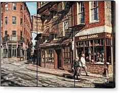 Old Towne Boston II Acrylic Print
