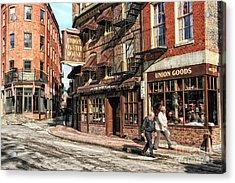 Old Towne Boston Acrylic Print