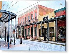 Old Towne Center Street Acrylic Print