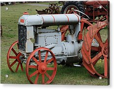 Old Tractor Acrylic Print