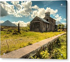 Old Train Station Acrylic Print by Craig Brown