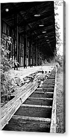 Old Train Station Acrylic Print by Randall  Cogle