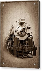 Old Trains Acrylic Print