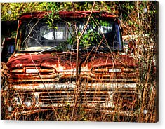 Old Truck 02 Acrylic Print by Andy Savelle