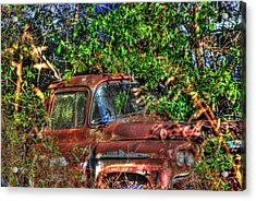 Old Truck 05 Acrylic Print by Andy Savelle