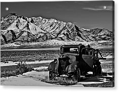 Old Truck Acrylic Print by Robert Bales