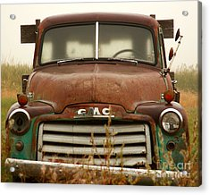 Old Truck Acrylic Print by Steven Reed