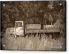 Old Tyme Truck Acrylic Print by Theresa Willingham