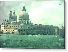 Acrylic Print featuring the photograph Old Venice by Brian Reaves