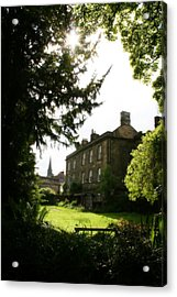 Old Victorian Mansion And Grounds - Peak District - England Acrylic Print
