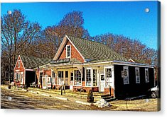 Old Village Store Acrylic Print by Constantine Gregory