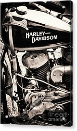 Old Vintage Hd Acrylic Print by Tim Gainey