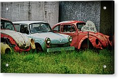 Acrylic Print featuring the photograph Old Volks Home by Trever Miller