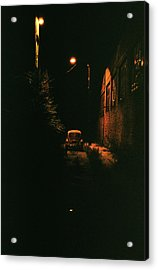Old Vw Left All Alone   Acrylic Print by Hector  Valentin