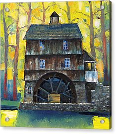 Old Water Mill Acrylic Print
