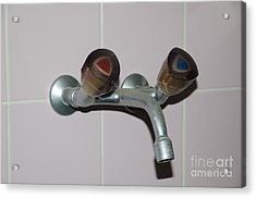 Old Water Tap Acrylic Print by Mats Silvan