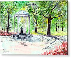 Old Well Chapel Hill Acrylic Print
