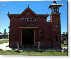 Old West Fire Station Acrylic Print