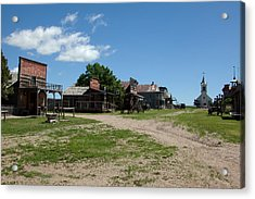 Old West Town Acrylic Print