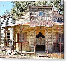 Old Western Saloon Acrylic Print