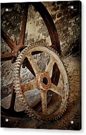 Old Wheels Acrylic Print by Odd Jeppesen