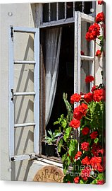 Acrylic Print featuring the photograph Old Window by Debby Pueschel