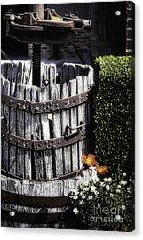 Old Wine Press  Acrylic Print by George Oze