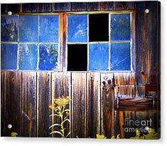 Old Wooden Building Of Broken Dreams Acrylic Print