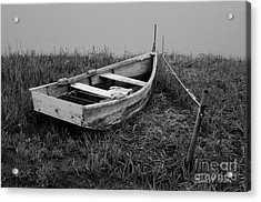 Old Wooden Rowboat II Acrylic Print by Dave Gordon