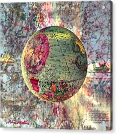 Old World Poppling Acrylic Print