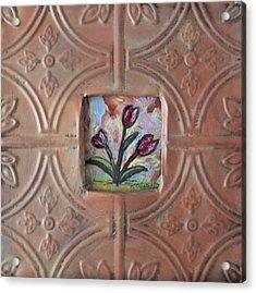 Old World Tulips Acrylic Print