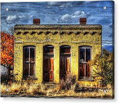 Old Yellow House In Buena Vista Acrylic Print