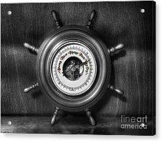 Olde Barometer Acrylic Print by Ian Mitchell