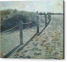 Acrylic Print featuring the photograph Olde Worlde Beach by Jocelyn Friis